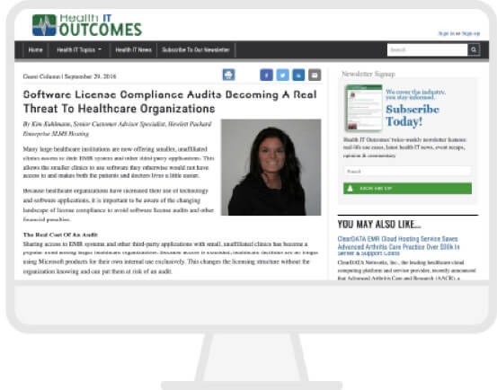 Health IT Outcomes Website